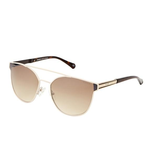 1f780a127148 Balmain Accessories | Bl252201 Matte Cream Wayfarer Sunglasses ...